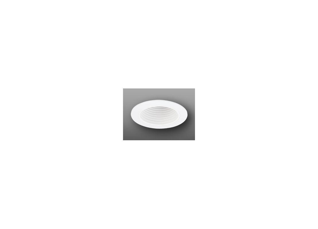 """Elco EL1494 4"""" Low-Voltage Adjustable Deep Baffle White Recessed"""