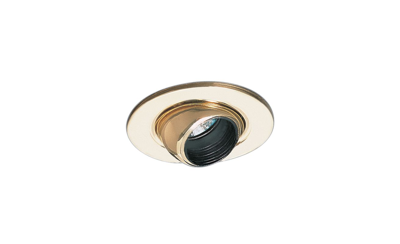 "Elco EL1498 4"" Low-Voltage Adjustable Eyeball Trim Black / Gold Sale $19.90 ITEM: bci1659333 ID#:EL1498G :"