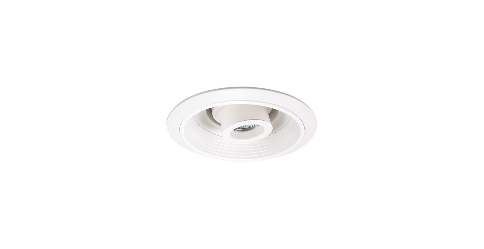 "Elco EL1510 6"" 50W Low-Voltage Retrofit Trim with Baffle and"