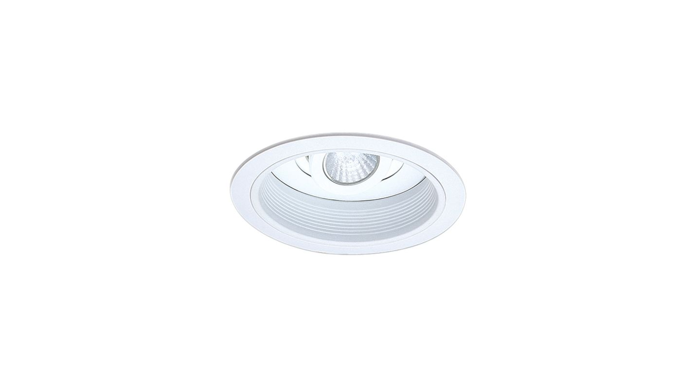 "Elco EL1588 6"" 50W Low-Voltage Retrofit Trim with Baffle and"