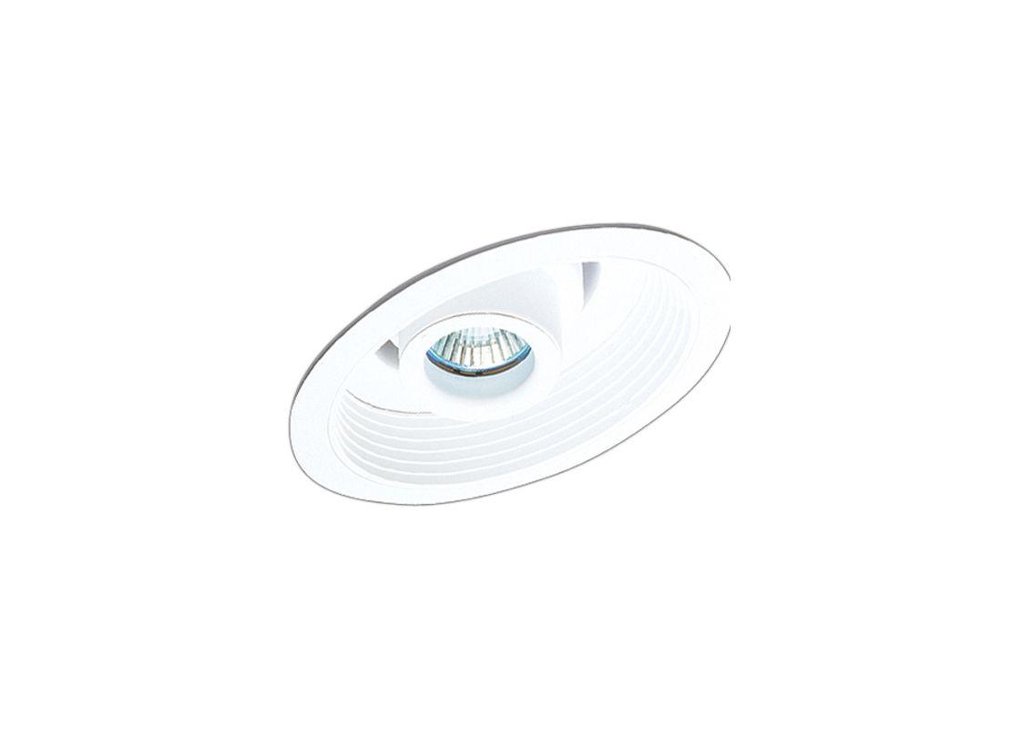 """Elco EL1610 6"""" 50W Low-Voltage Retrofit Trim with Adjustable Spot and"""
