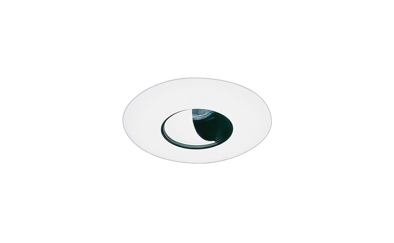 """Elco EL2525 6"""" Low-Voltage Adjustable Wall Wash with Reflector Black /"""