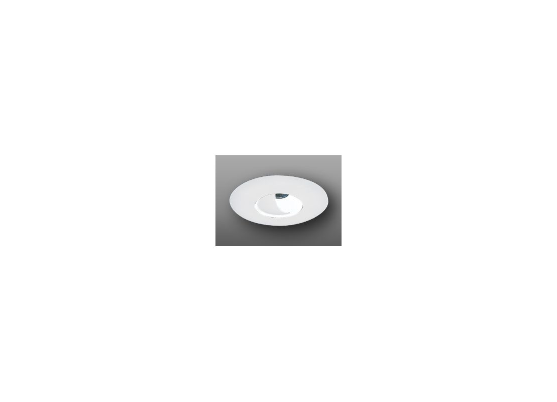 """Elco EL2525 6"""" Low-Voltage Adjustable Wall Wash with Reflector White"""