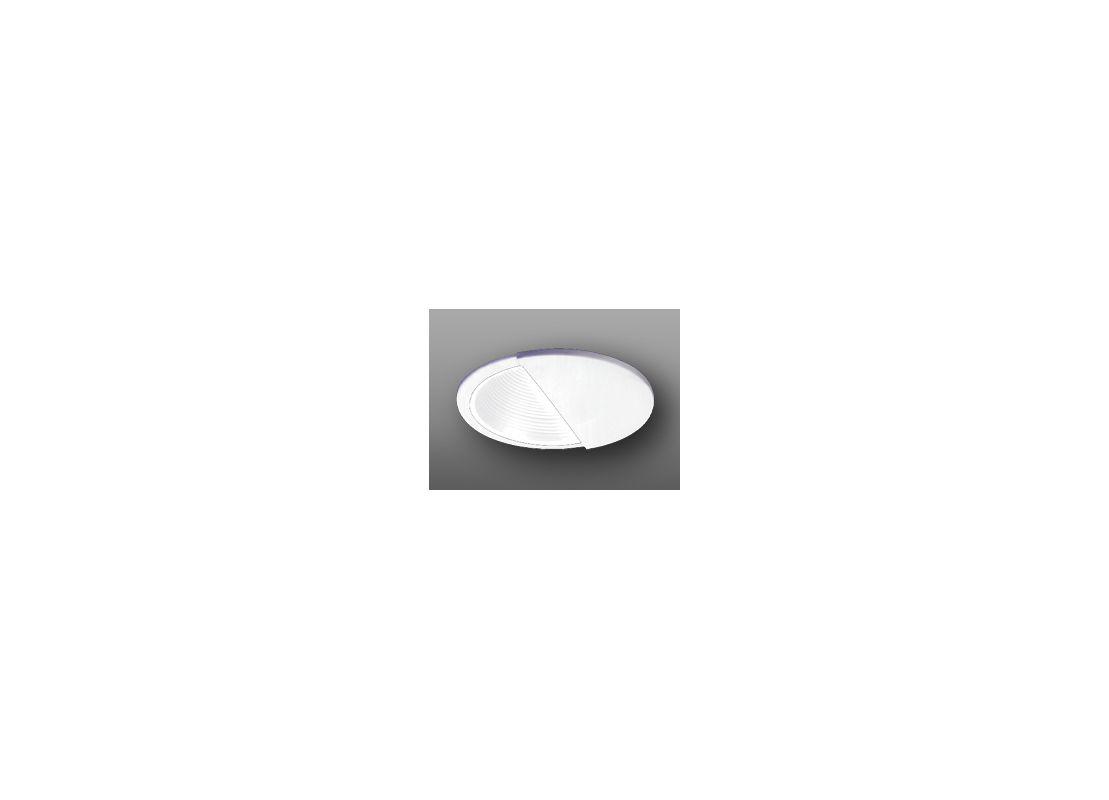 """Elco EL2545 6"""" Low-Voltage Adjustable Wall Wash with Baffle White"""