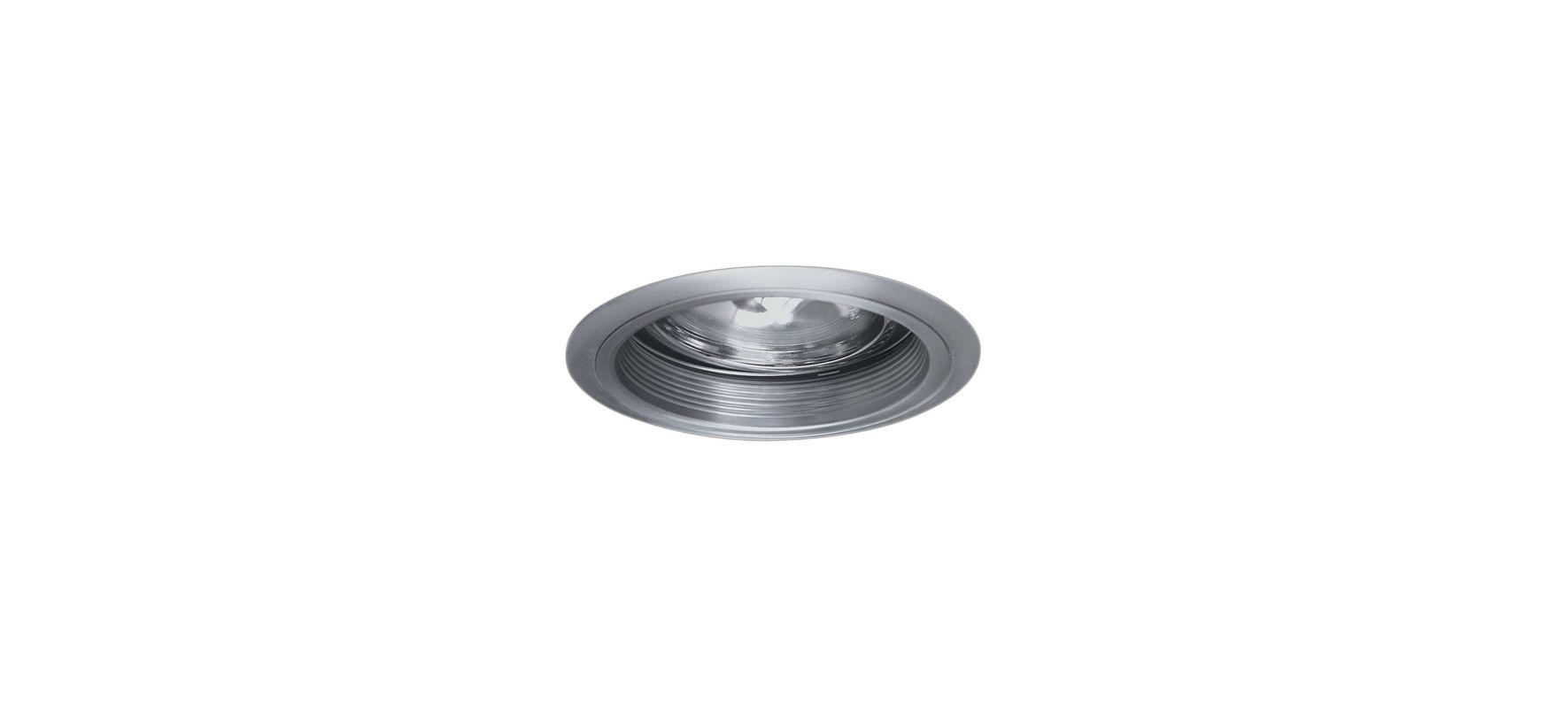 """Elco EL2575 6"""" Low-Voltage Adjustable Gimbal with Baffle Nickel"""