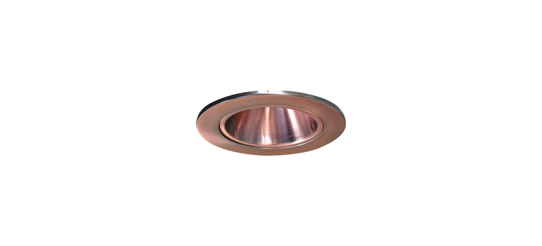 "Elco EL2621 3"" Diecast Adjustable Reflector Copper Recessed Lights"