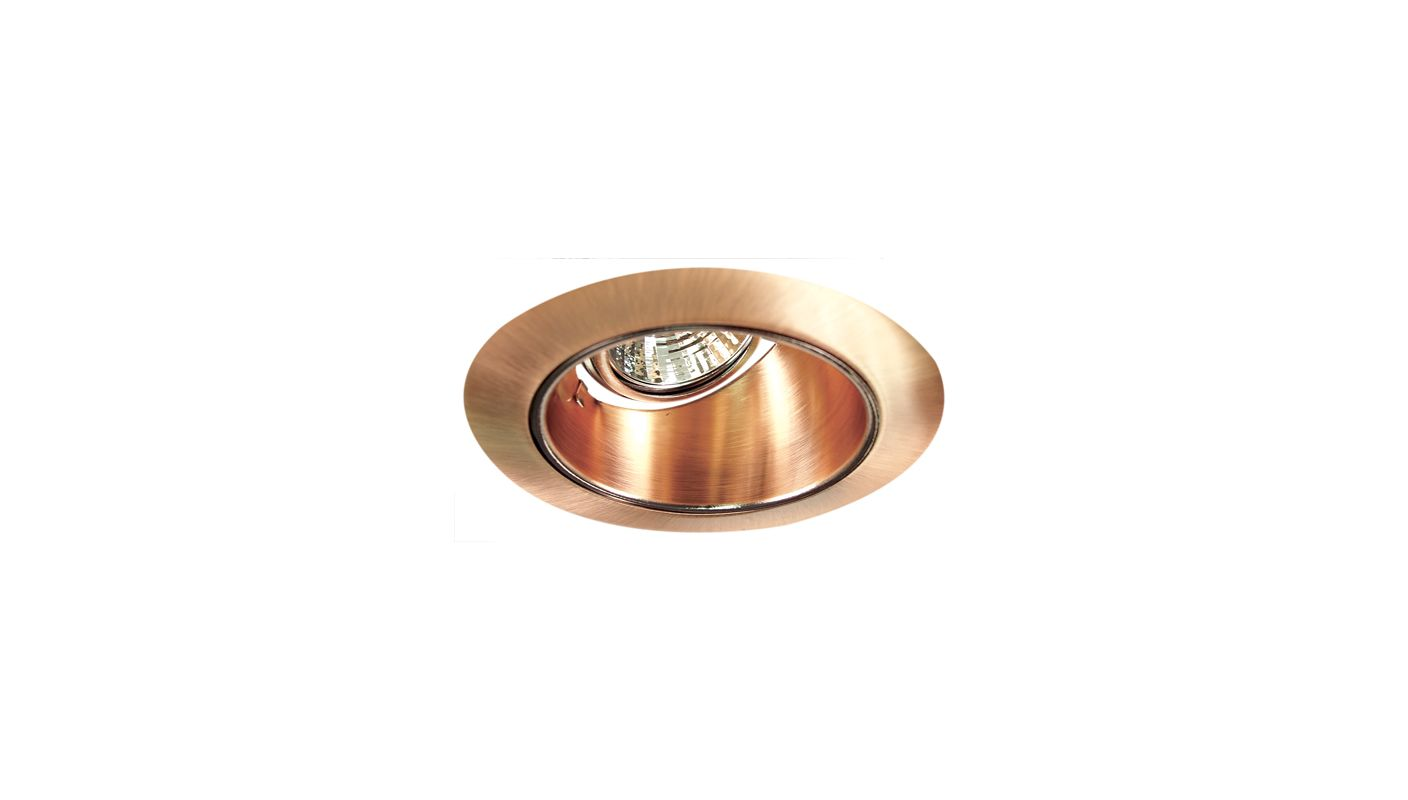 "Elco EL2622 3"" Diecast Adjustable Wall Wash Reflector Copper Recessed"