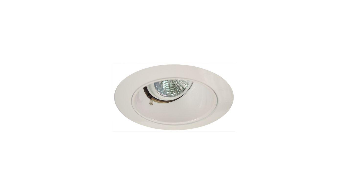 """Elco EL2622 3"""" Diecast Adjustable Wall Wash Reflector White Recessed"""