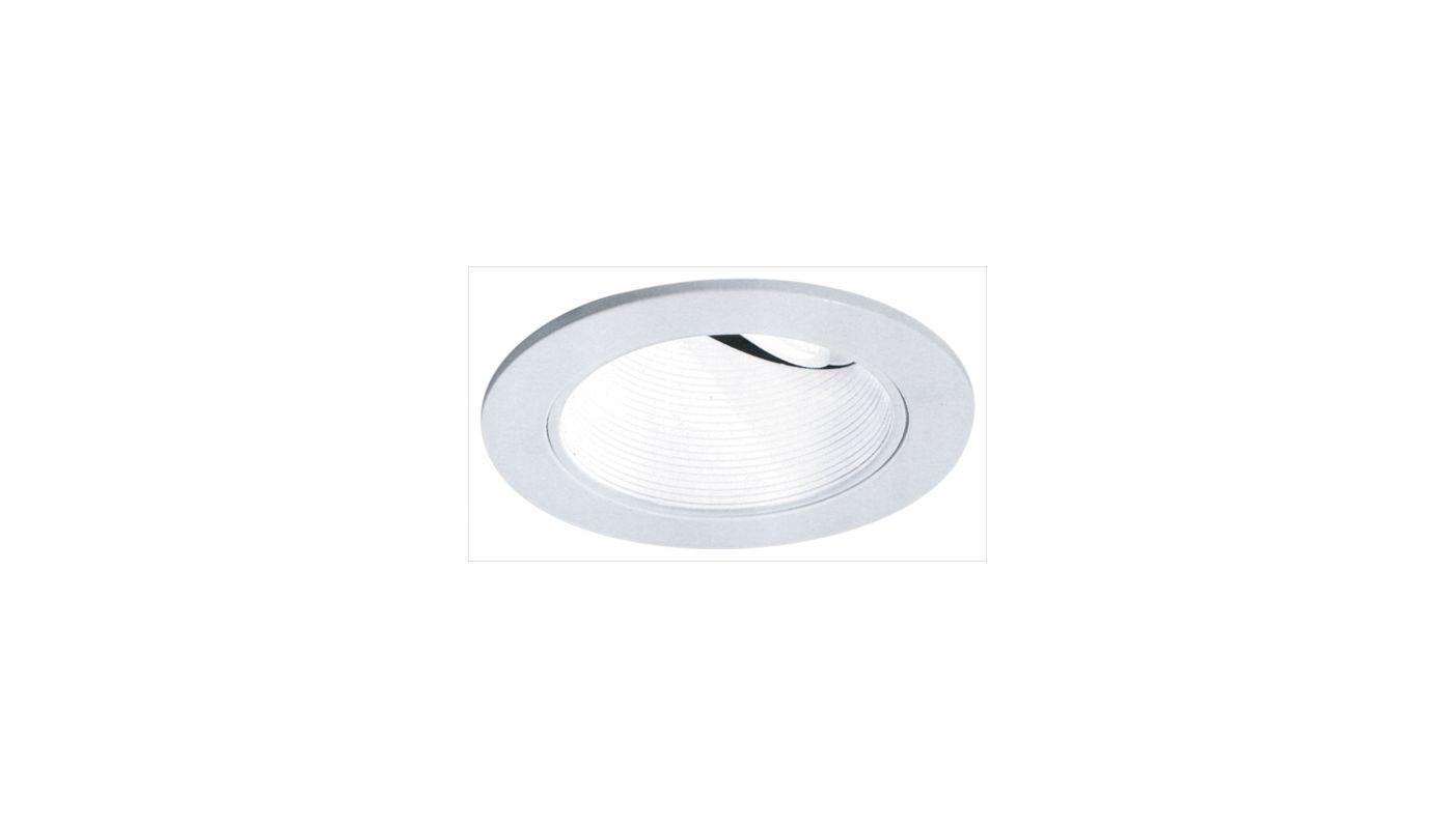 """Elco EL2624 3"""" Diecast Adjustable Wall Wash Baffle White Recessed"""