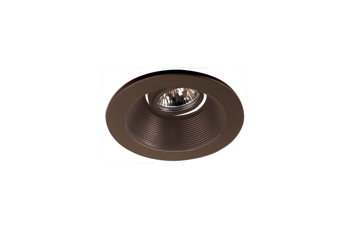 "Elco EL2693 3"" Diecast Adjustable Baffle Trim Bronze Recessed Lights"