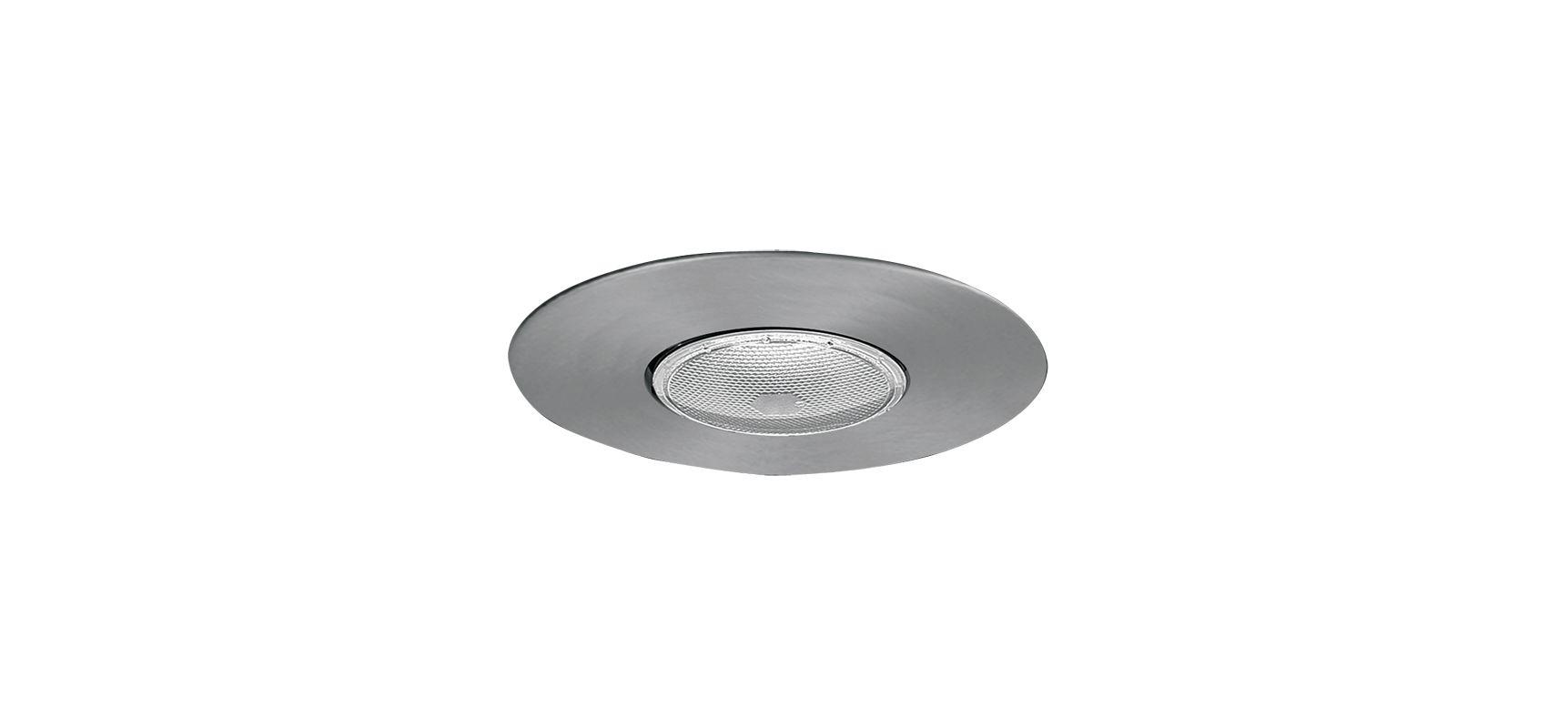 "Elco EL30 6"" Open Trim for 75W Bulbs Nickel Recessed Lights Shower"