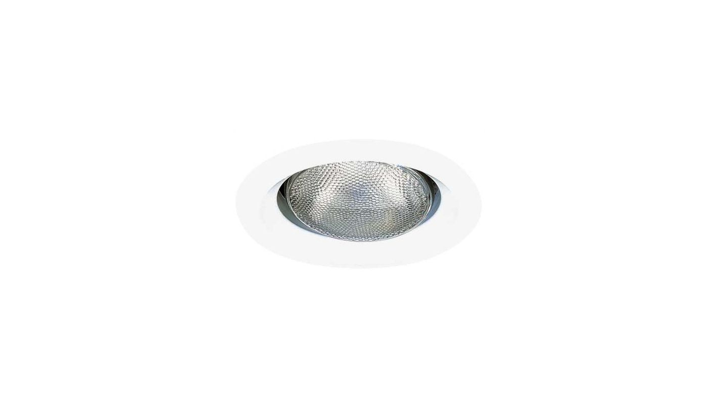 """Elco EL408W 6"""" White Open Splay for 150W Bulbs White Recessed Lights"""