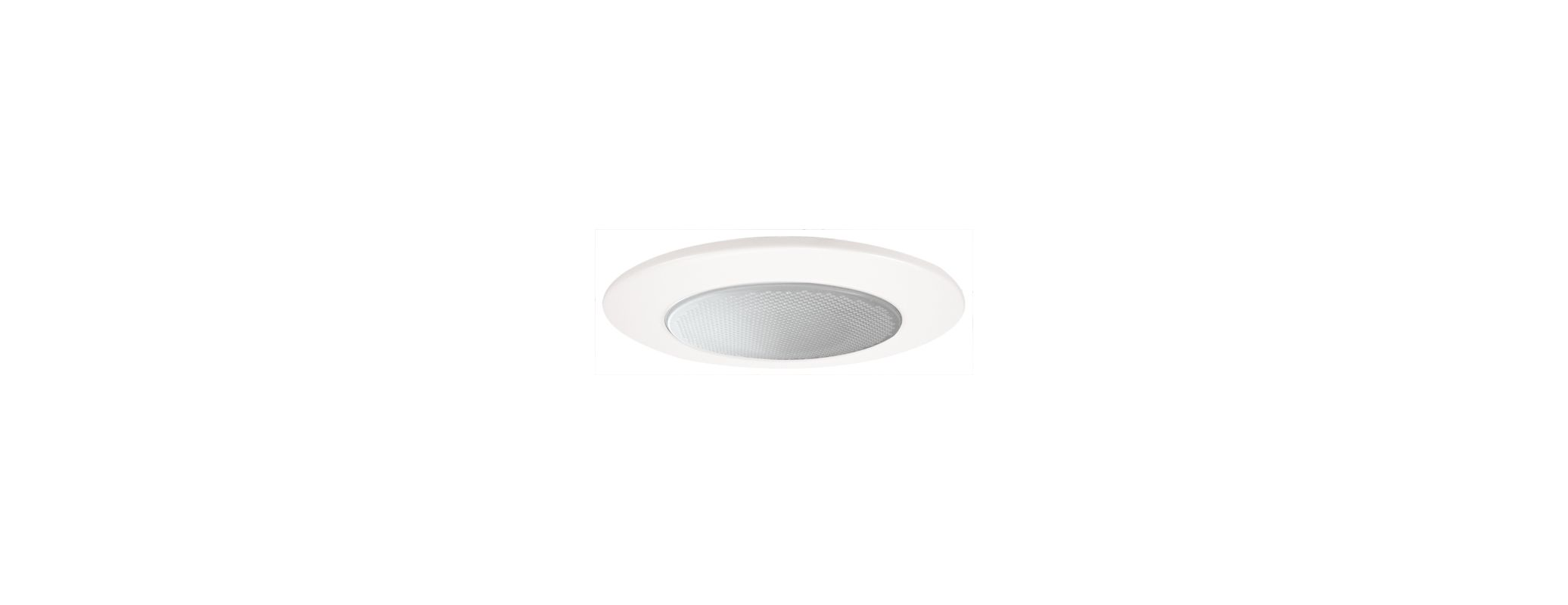 "Elco EL5112W 5"" Shower Trim with Albalite Lens and Reflector White"