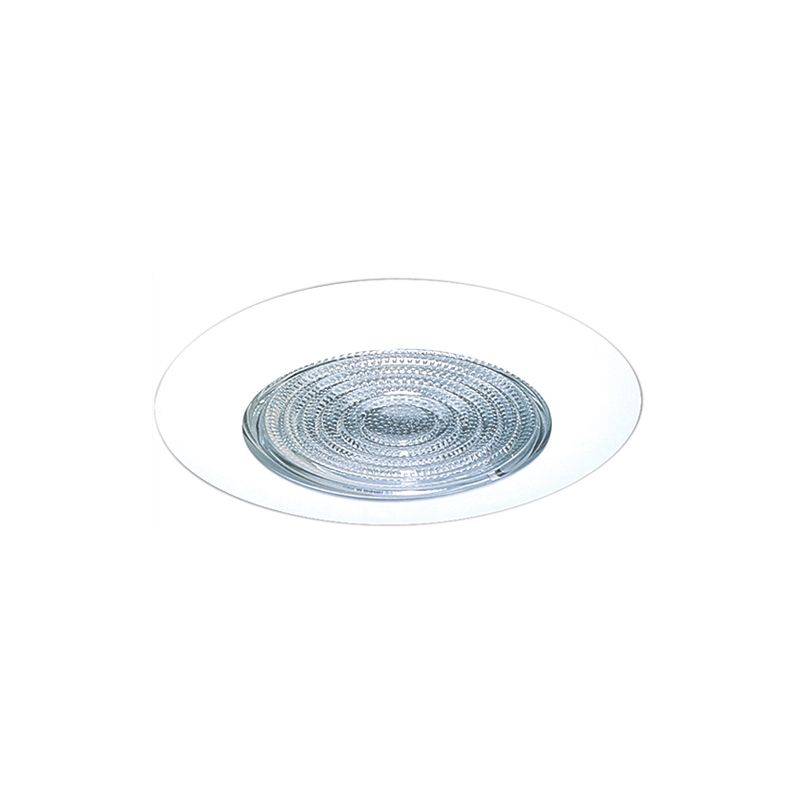 "Elco EL5113W 5"" Shower Trim with Fresnel Lens and Reflector White"