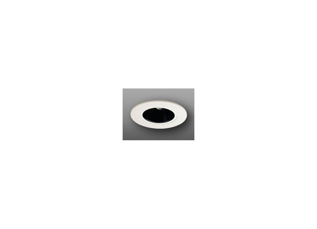 "Elco EL5121 5"" Low-Voltage Retrofit Trim Black Recessed Lights"