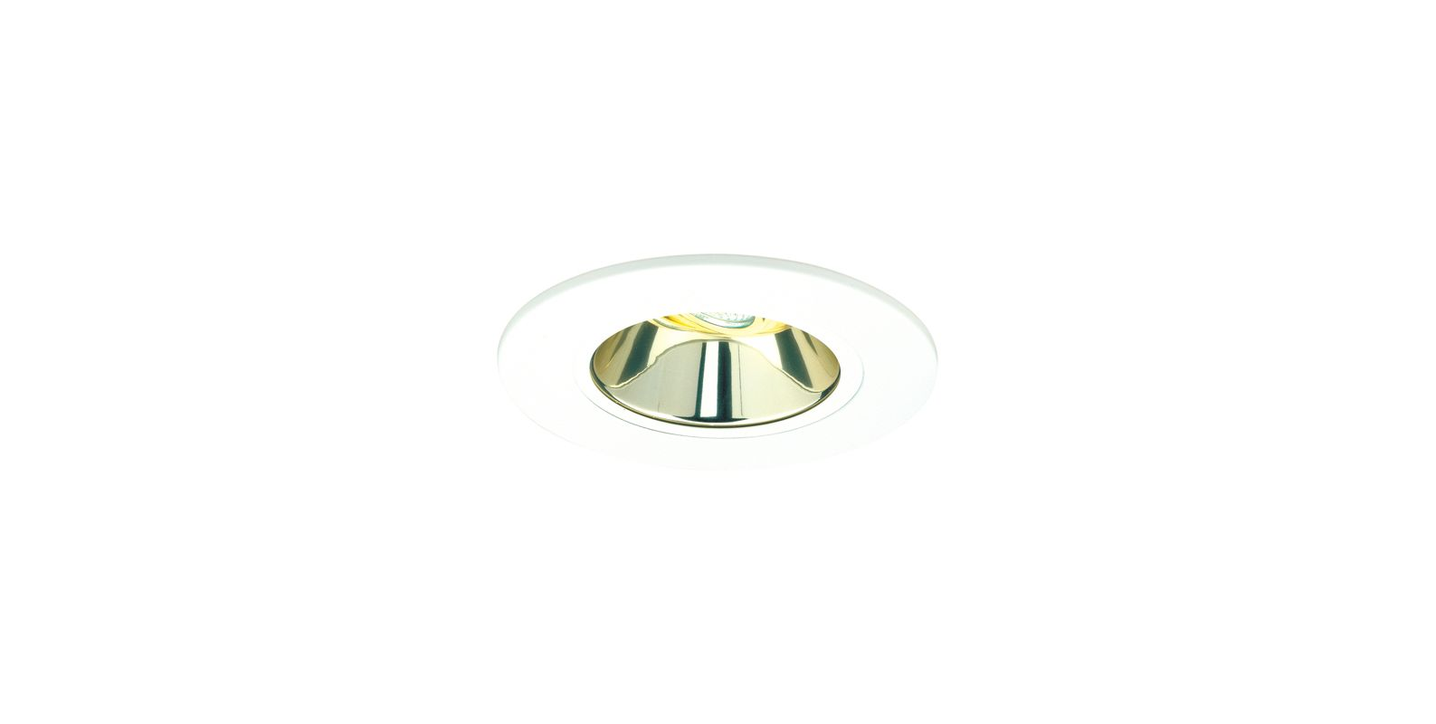 "Elco EL5121 5"" Low-Voltage Retrofit Trim Gold Recessed Lights"