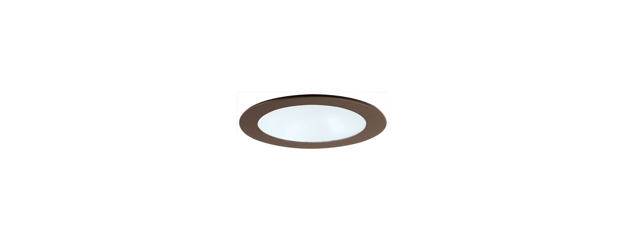 "Elco EL512 5"" Shower Trim with Albalite Lens Bronze Recessed Lights"