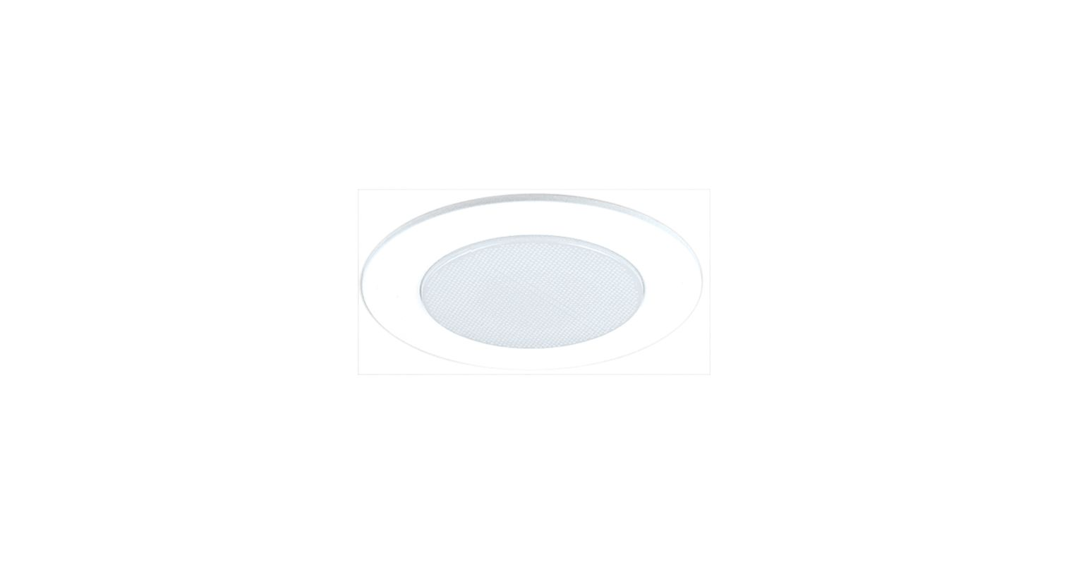 "Elco EL512 5"" Shower Trim with Albalite Lens White Recessed Lights"