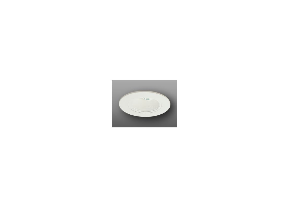 "Elco EL5193 5"" Low-Voltage Retrofit Trim with Adjustable Baffle White"