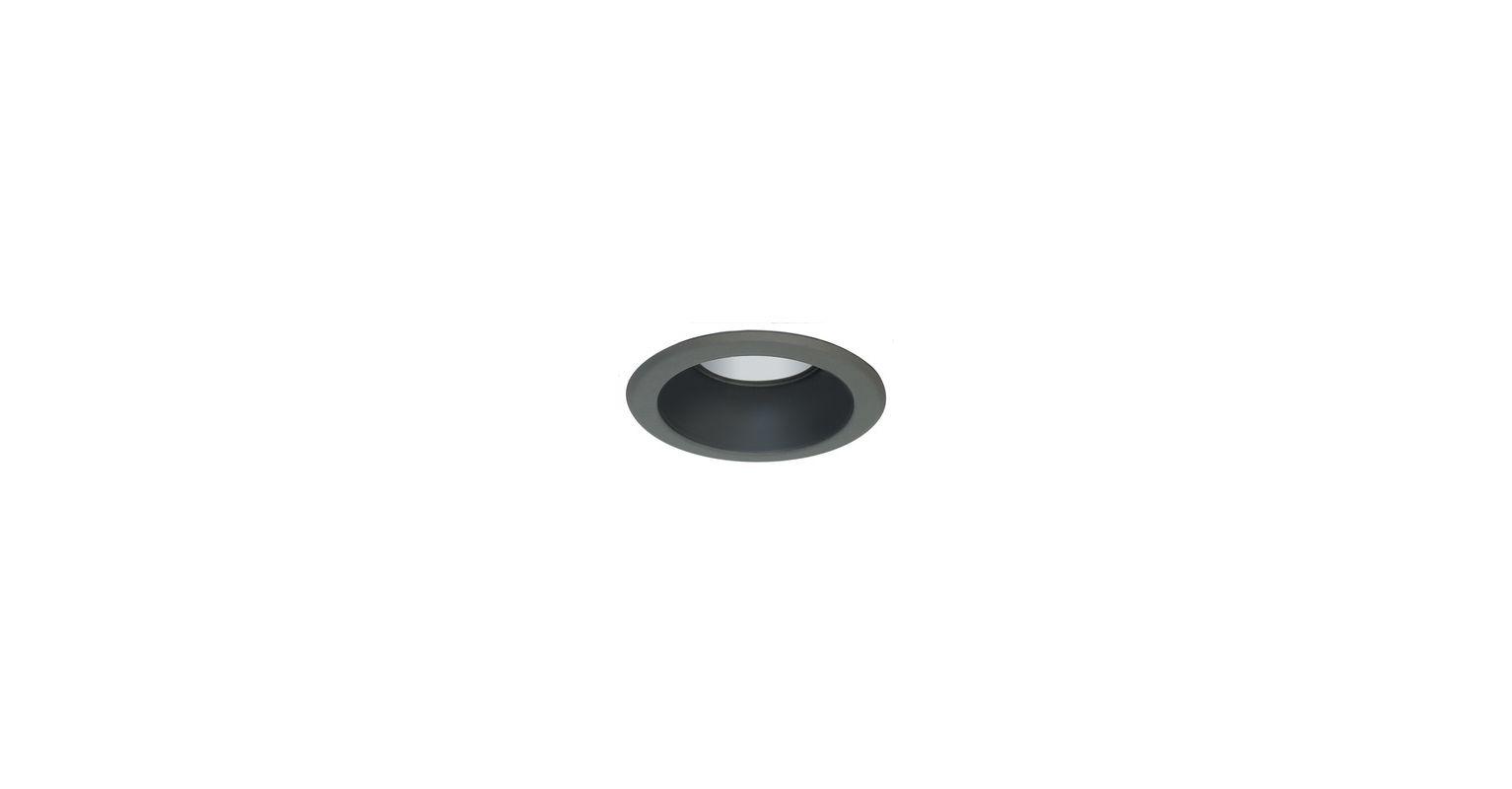 """Elco EL521 5"""" Metal Splay Reflector Black Recessed Lights Reflector"""