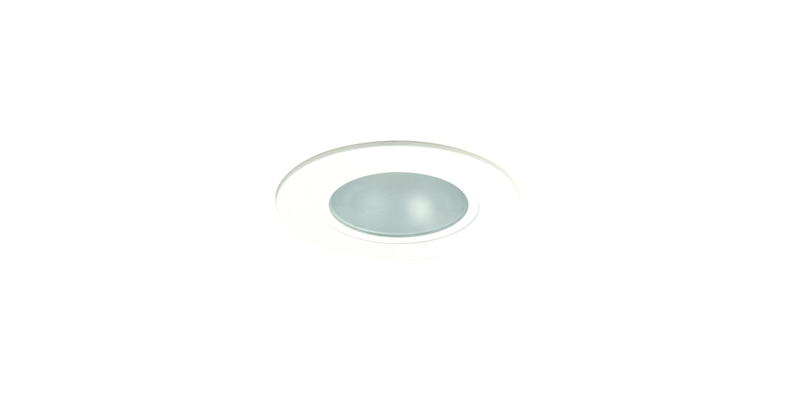 "Elco EL5412W 5"" Low-Voltage White Shower Trim with Adjustable"