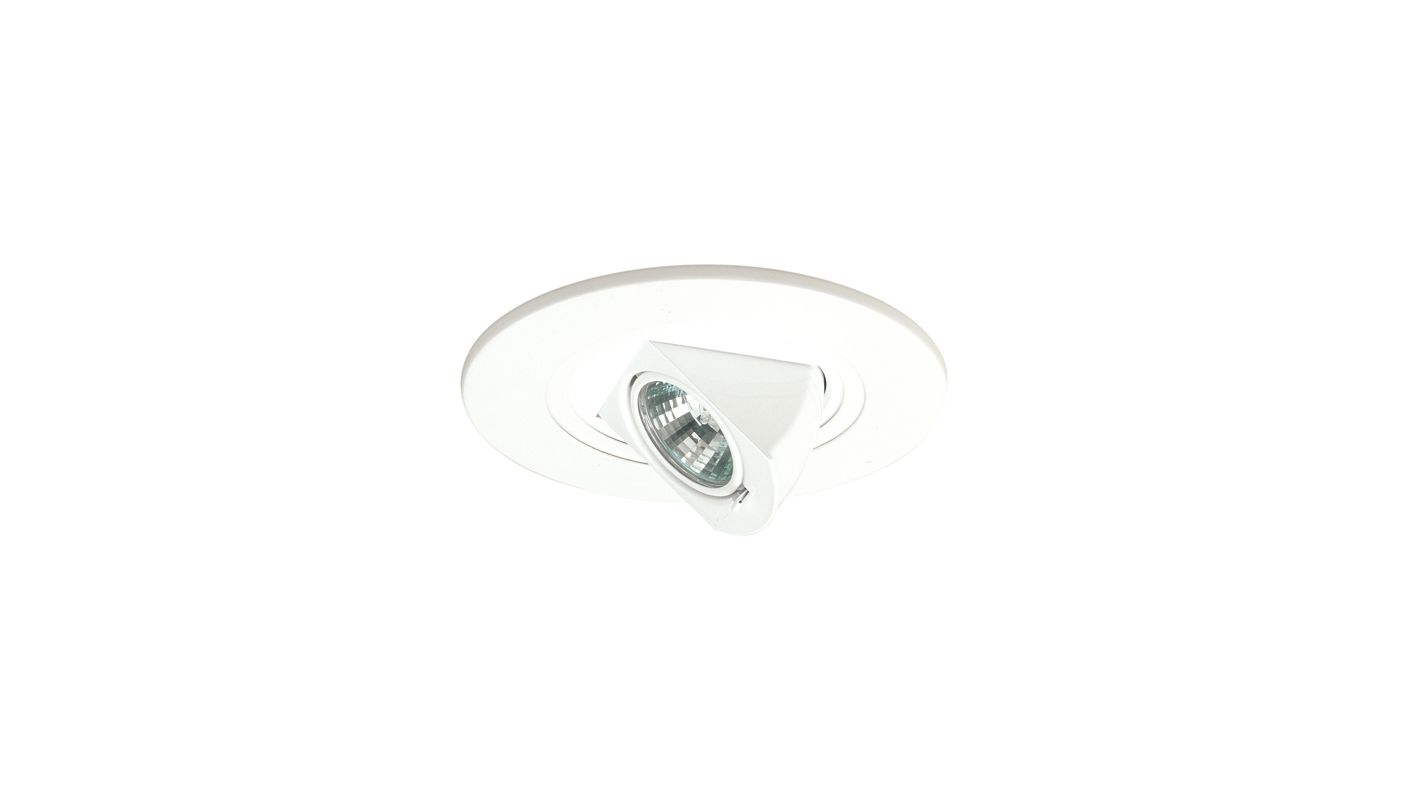 "Elco EL5497 5"" Low-Voltage Adjustable Pull-Down White Recessed Lights"