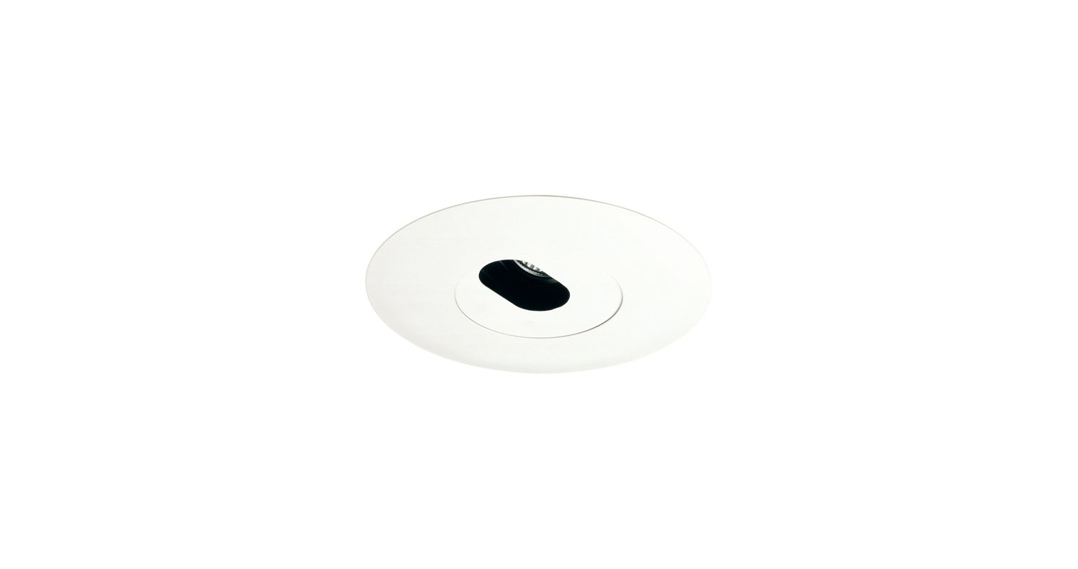 "Elco EL5520W 5"" White Low-Voltage Adjustable Slot Aperture White"