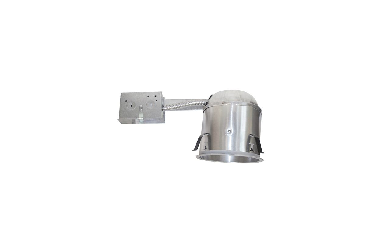 "Elco EL55RICA 5"" 75W Line Voltage Airtight IC Shallow Remodel Housing"