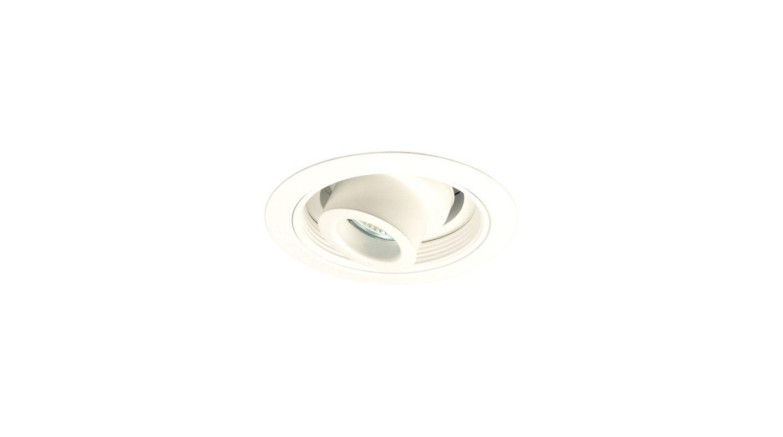 """Elco EL5610 5"""" Low-Voltage Deep Adjustable Spot with Baffle White"""