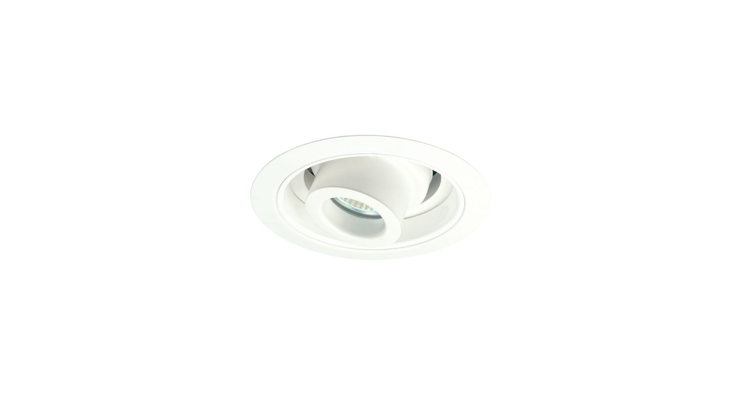 "Elco EL5611 5"" Low-Voltage Adjustable Spot with Reflector White"