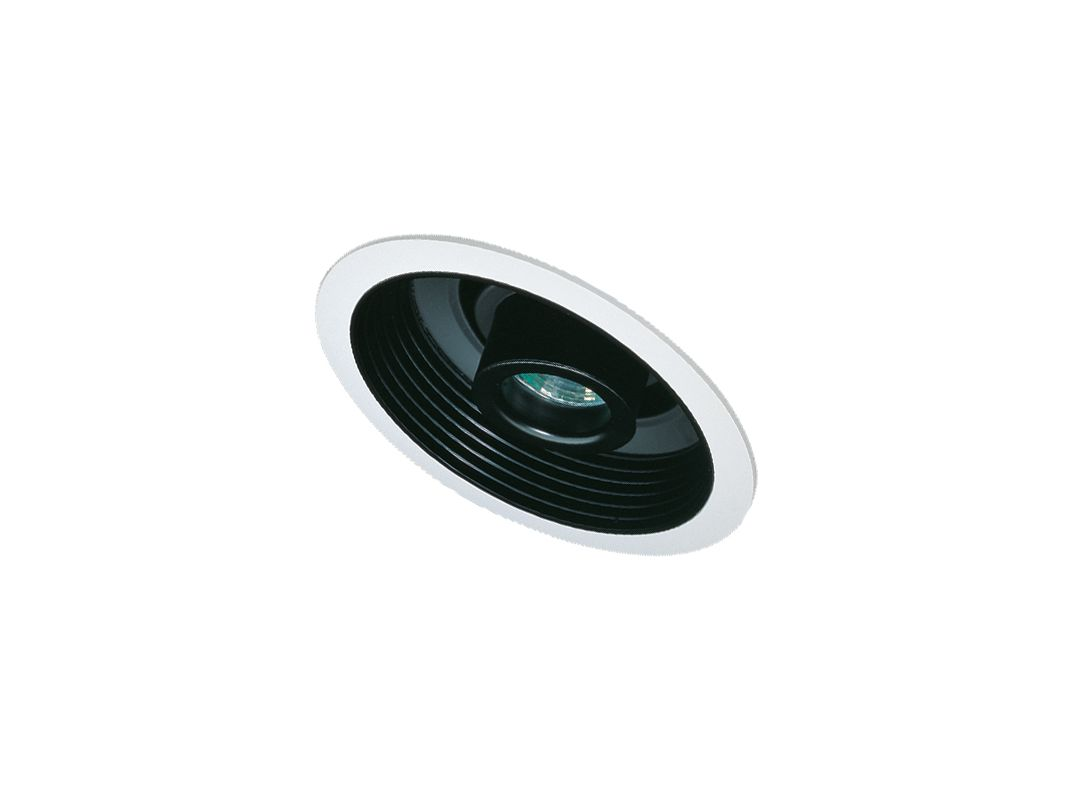 Elco EL610 6&quote Sloped Adjustable Spot with Baffle Black / White