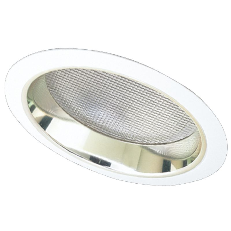 "Elco EL642 6"" CFL Sloped Reflector with Regressed Albalite Lens Trim"