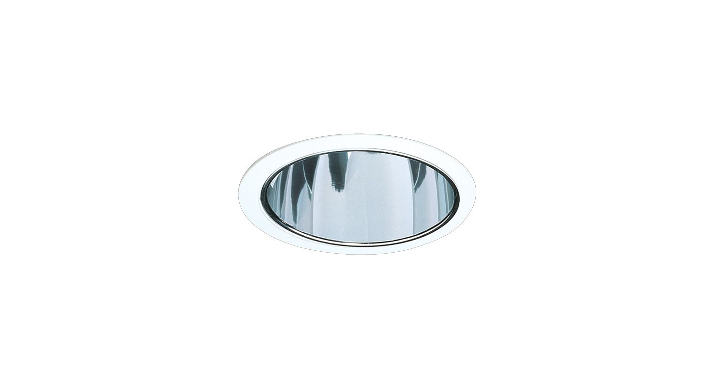 "Elco EL721F 7"" Self-Flanged CFL Reflector Trim for Vertical or"