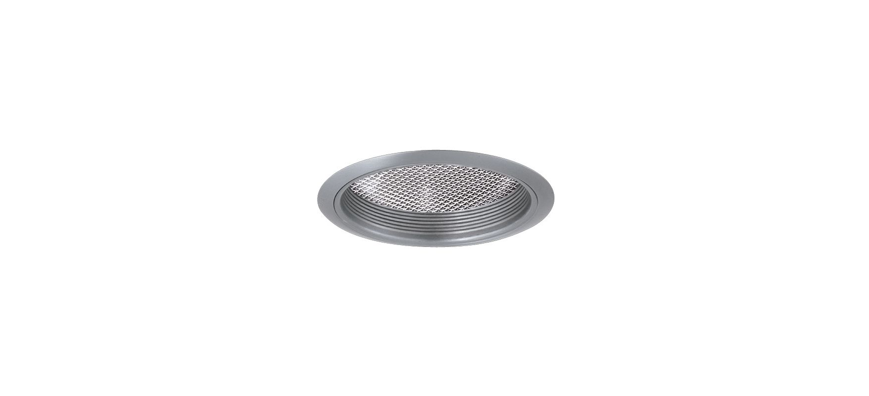"Elco EL742 7"" CFL Reflector with Regressed Albalite Lens and Baffle"