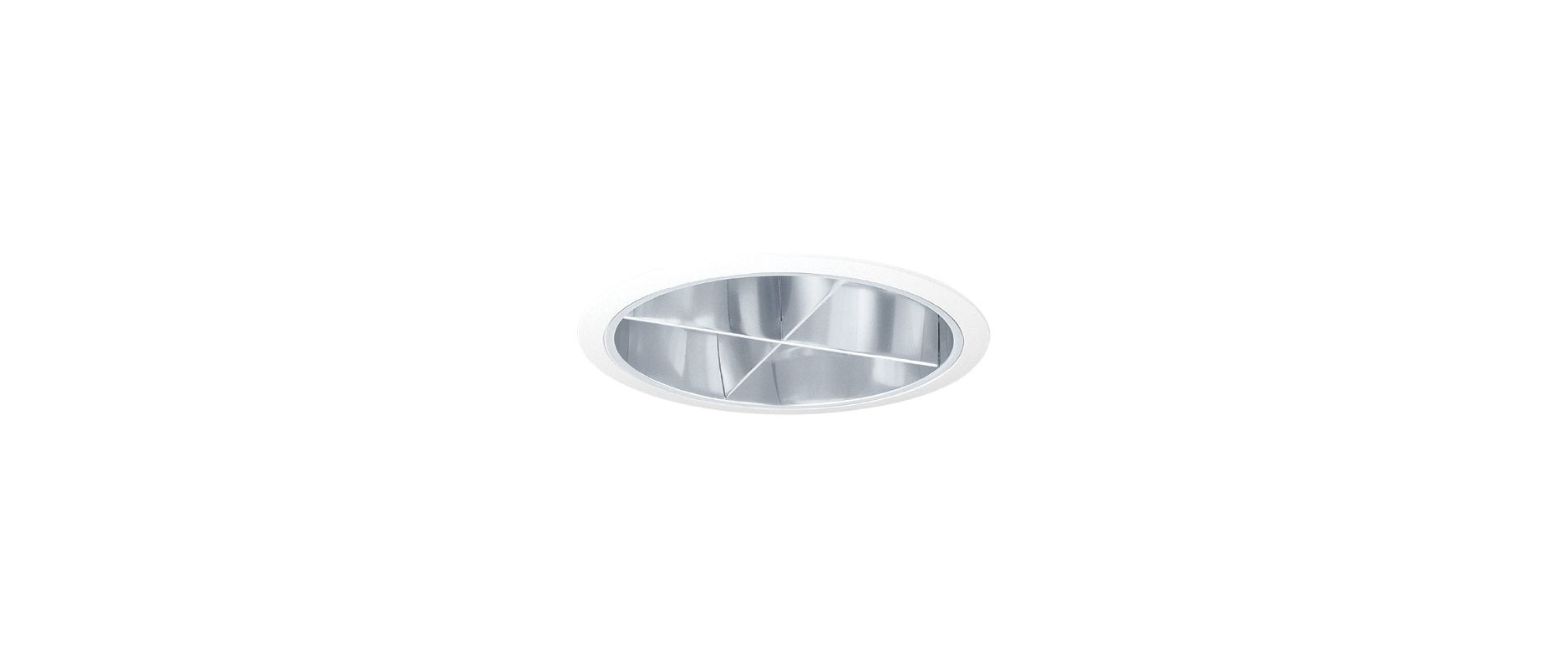 "Elco EL778 7"" CFL Reflector with Cross Blade - 7.625"" Outside diameter Sale $78.00 ITEM: bci1660203 ID#:EL778C :"