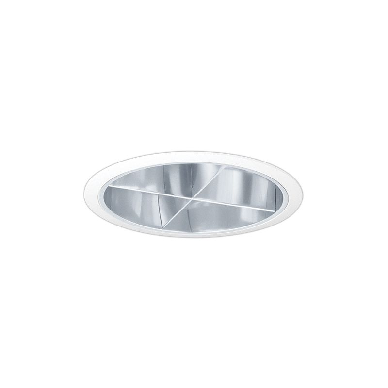 "Elco EL781 7"" CFL Cross Blade Reflector Trim Clear Recessed Lights Sale $78.00 ITEM: bci1660205 ID#:EL781C :"