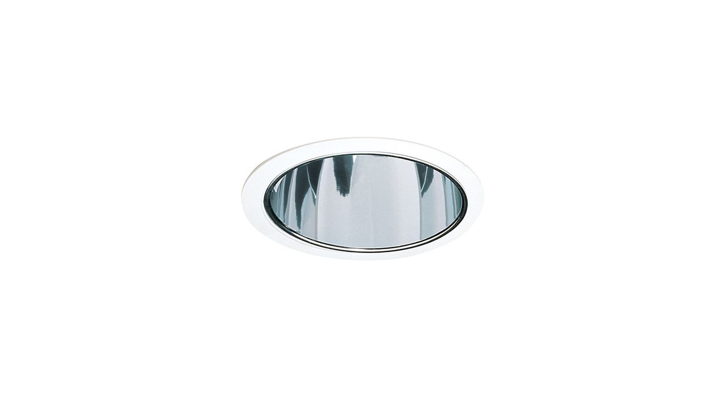 "Elco EL821 8"" CFL Reflector for Horizontal Housings Clear / White"