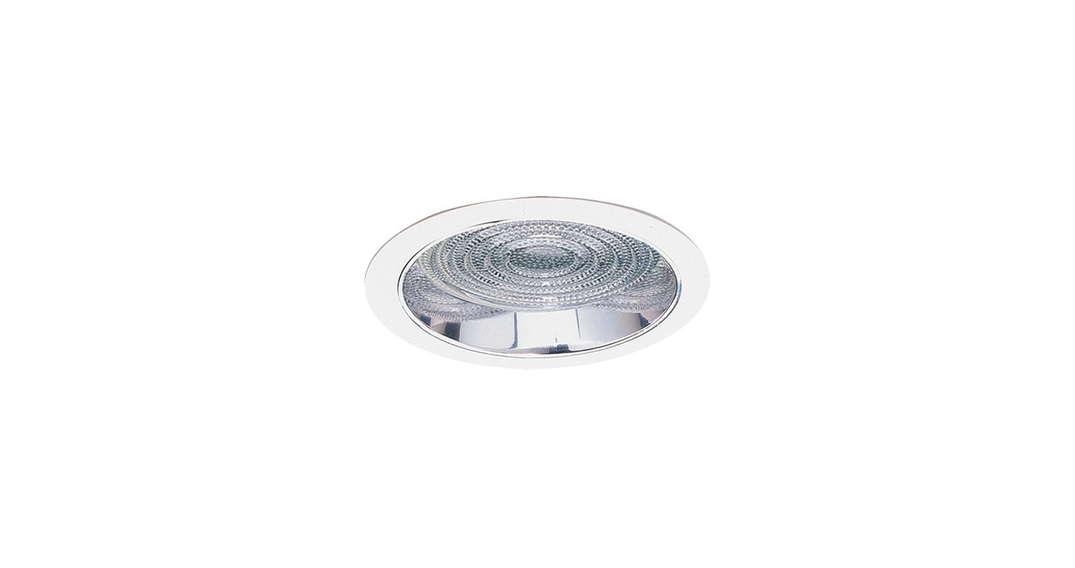"Elco EL837 8"" HID Clear Reflector with Fresnel Lens and Metal Ring"