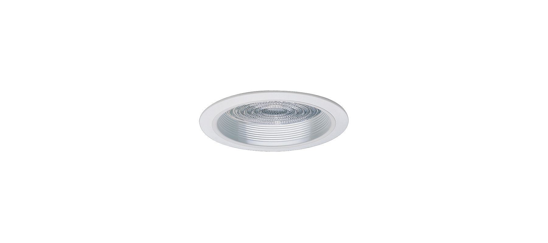"""Elco EL857 8"""" HID Baffle with Fresnel Lens and Metal Ring White Sale $78.00 ITEM: bci1660287 ID#:EL857W :"""