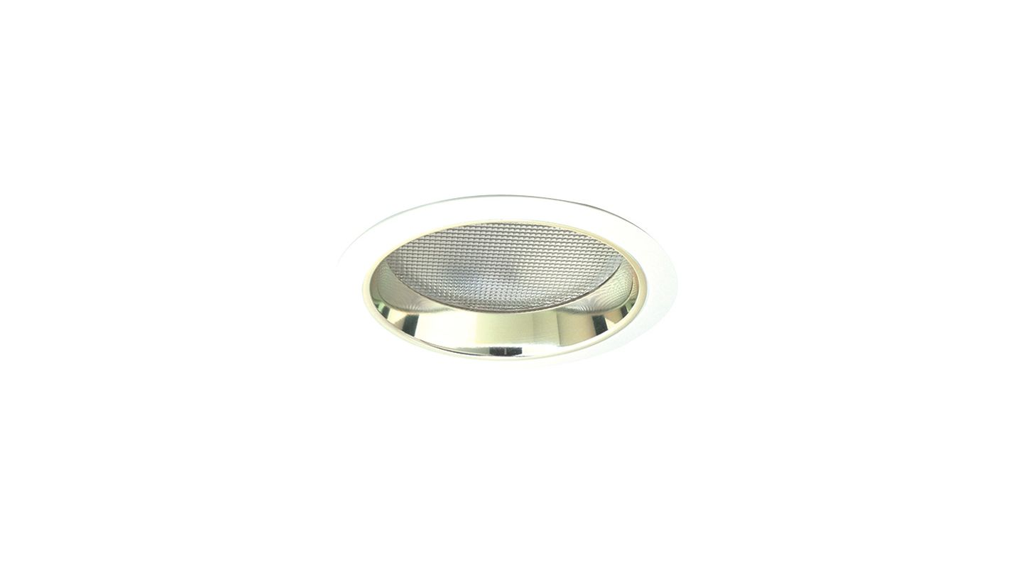 "Elco EL862 8"" CFL Reflector with Regressed Prismatic Lens for"