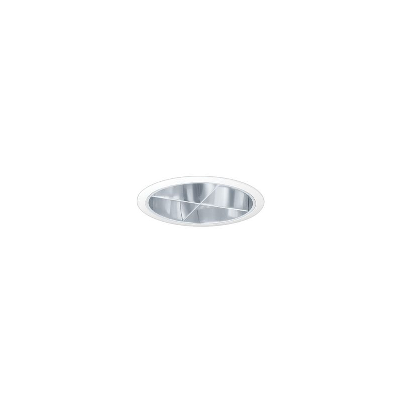 "Elco EL881 8"" CFL Cross Blade Reflector Trim Clear Recessed Lights Sale $78.00 ITEM: bci1660298 ID#:EL881C :"