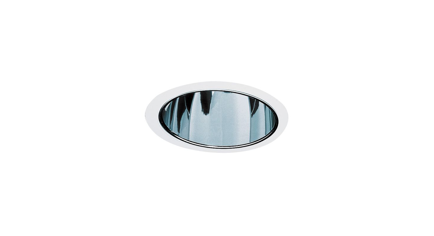 "Elco EL899 8"" HID Clear Reflector with Metal Ring Clear / White"