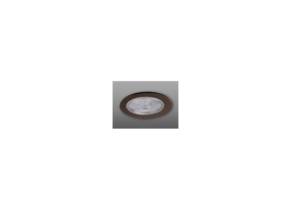 "Elco EL9113 4"" Shower Trim with Fresnel Lens and Reflector Bronze"