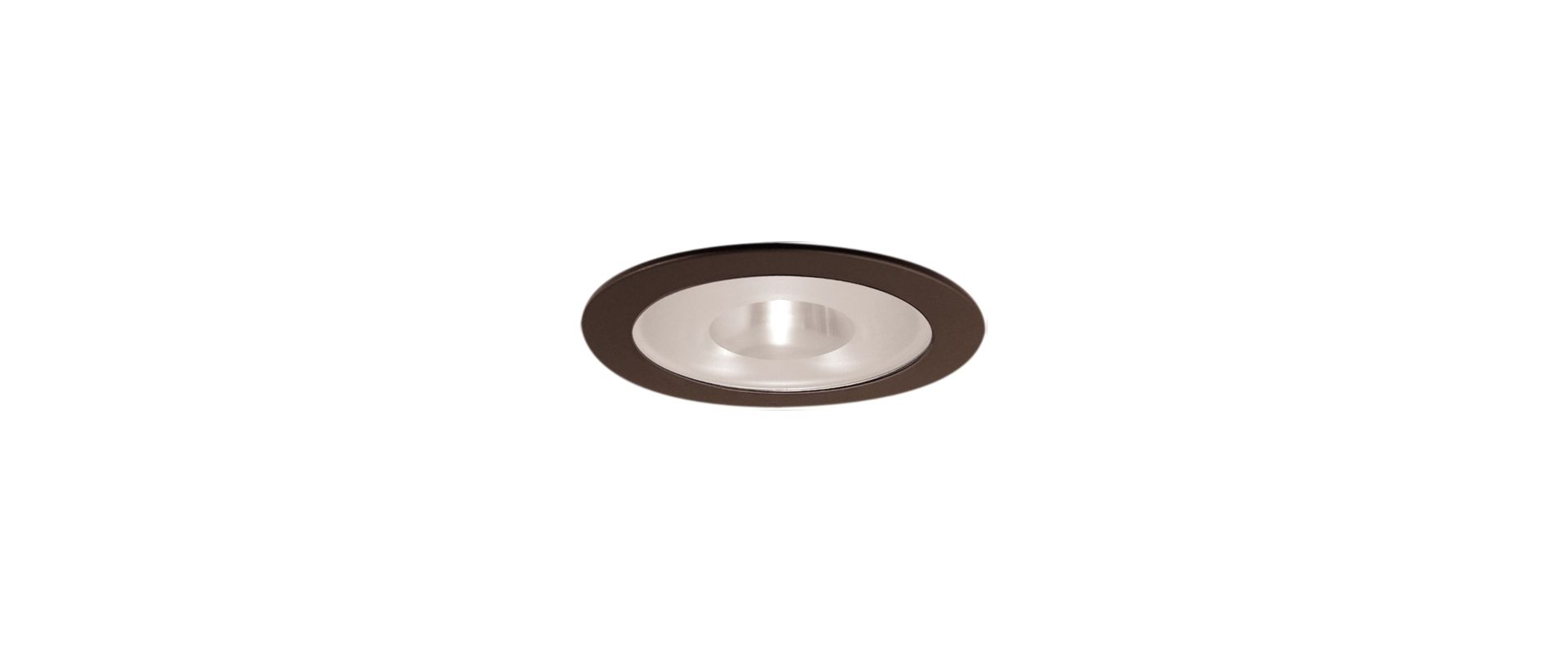 "Elco EL9115 4"" Shower Trim with Frosted Pinhole Glass and Reflector"