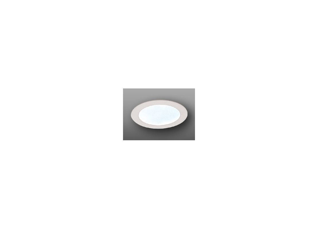 "Elco EL912 4"" Shower Trim with Frosted Lens Clear Recessed Lights"