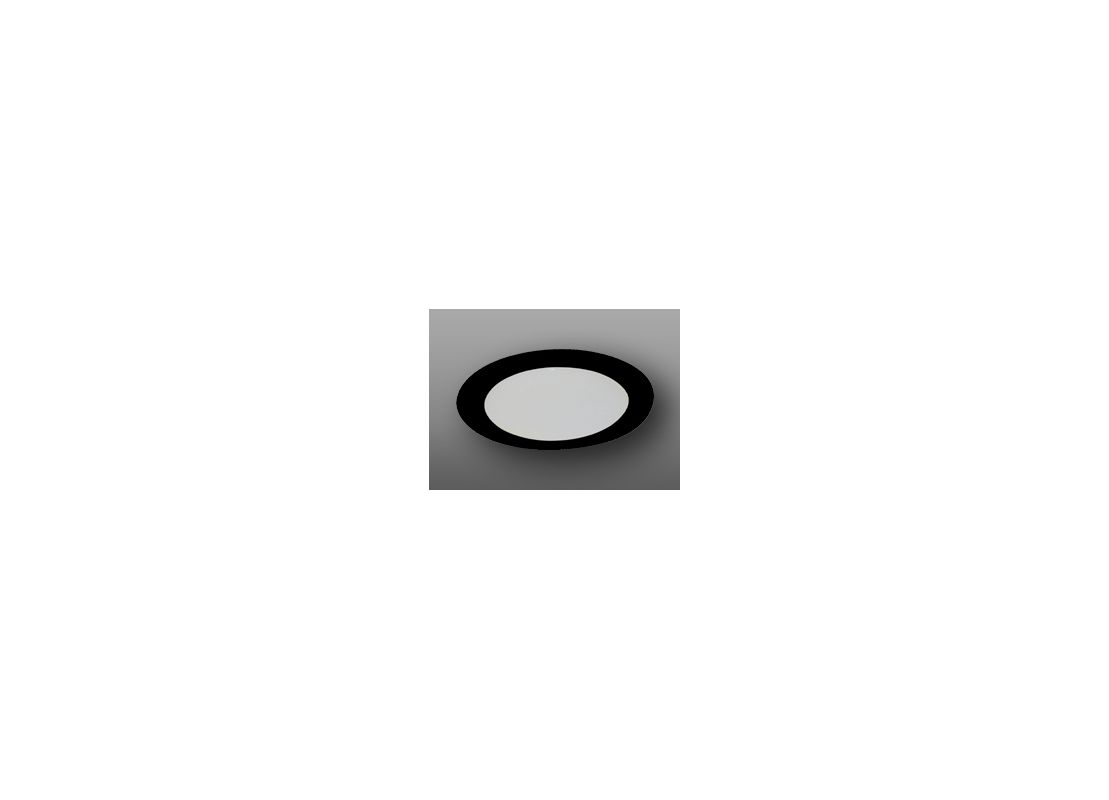 "Elco EL914 4"" Shower Trim with Albalite Lens Black Recessed Lights"
