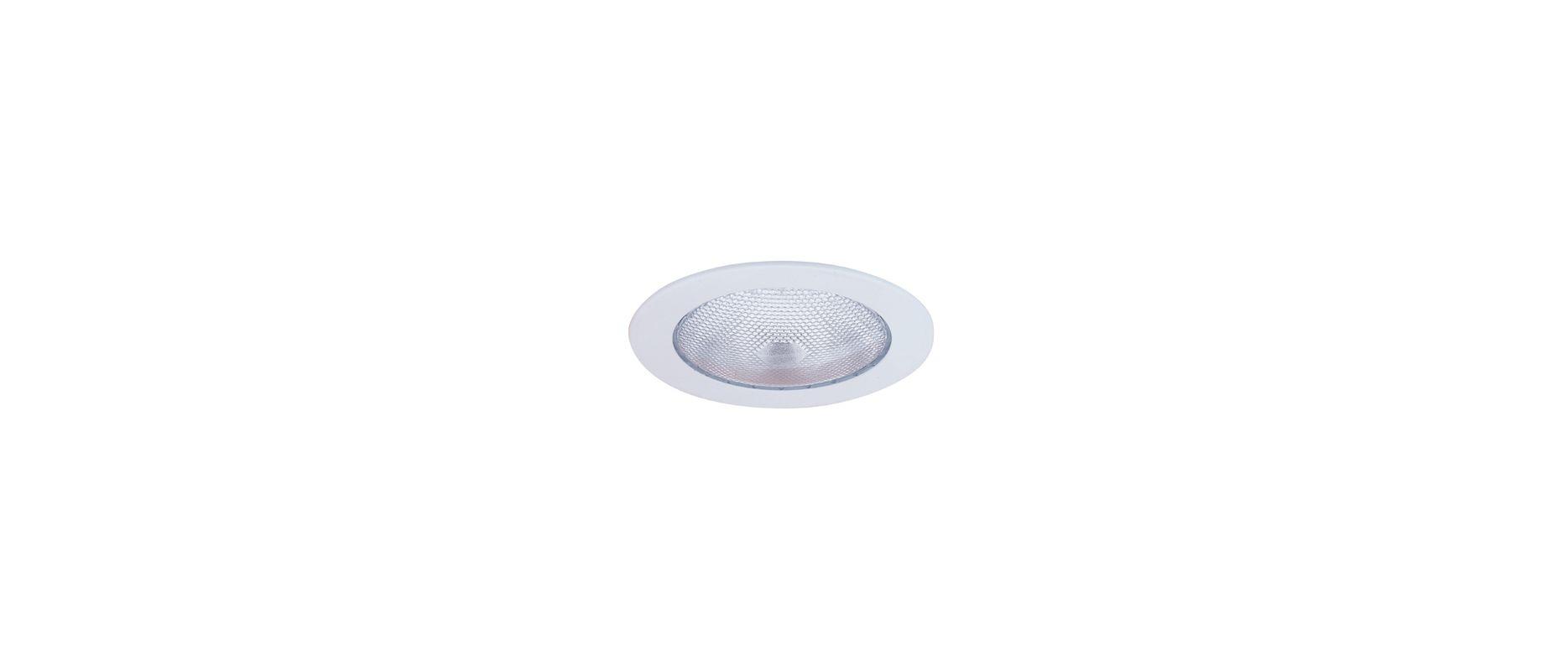 "Elco EL930W 4"" Open Trim White Recessed Lights Shower Trims"