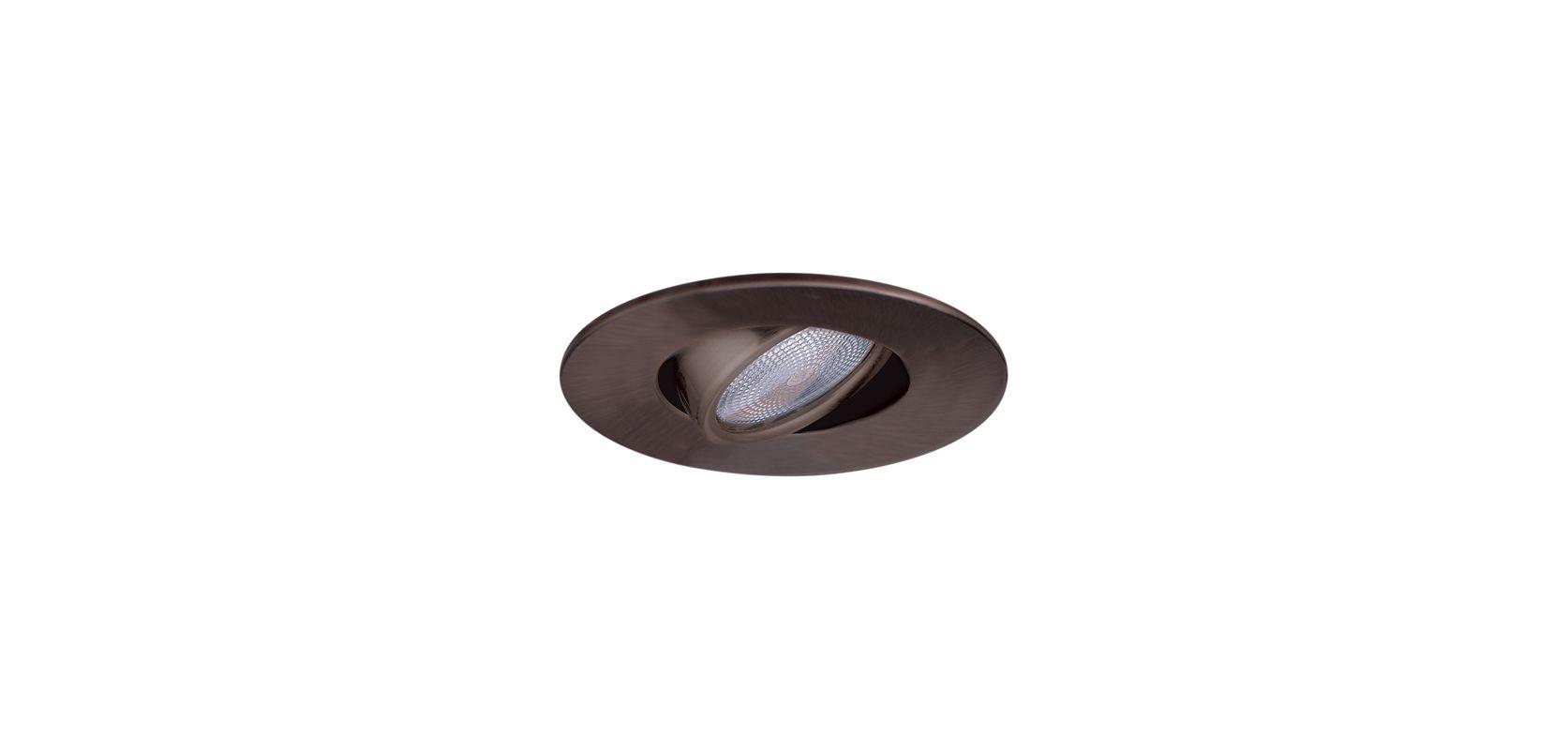 """Elco EL985 4"""" Adjustable Gimbal Ring Bronze Recessed Lights Adjustable"""
