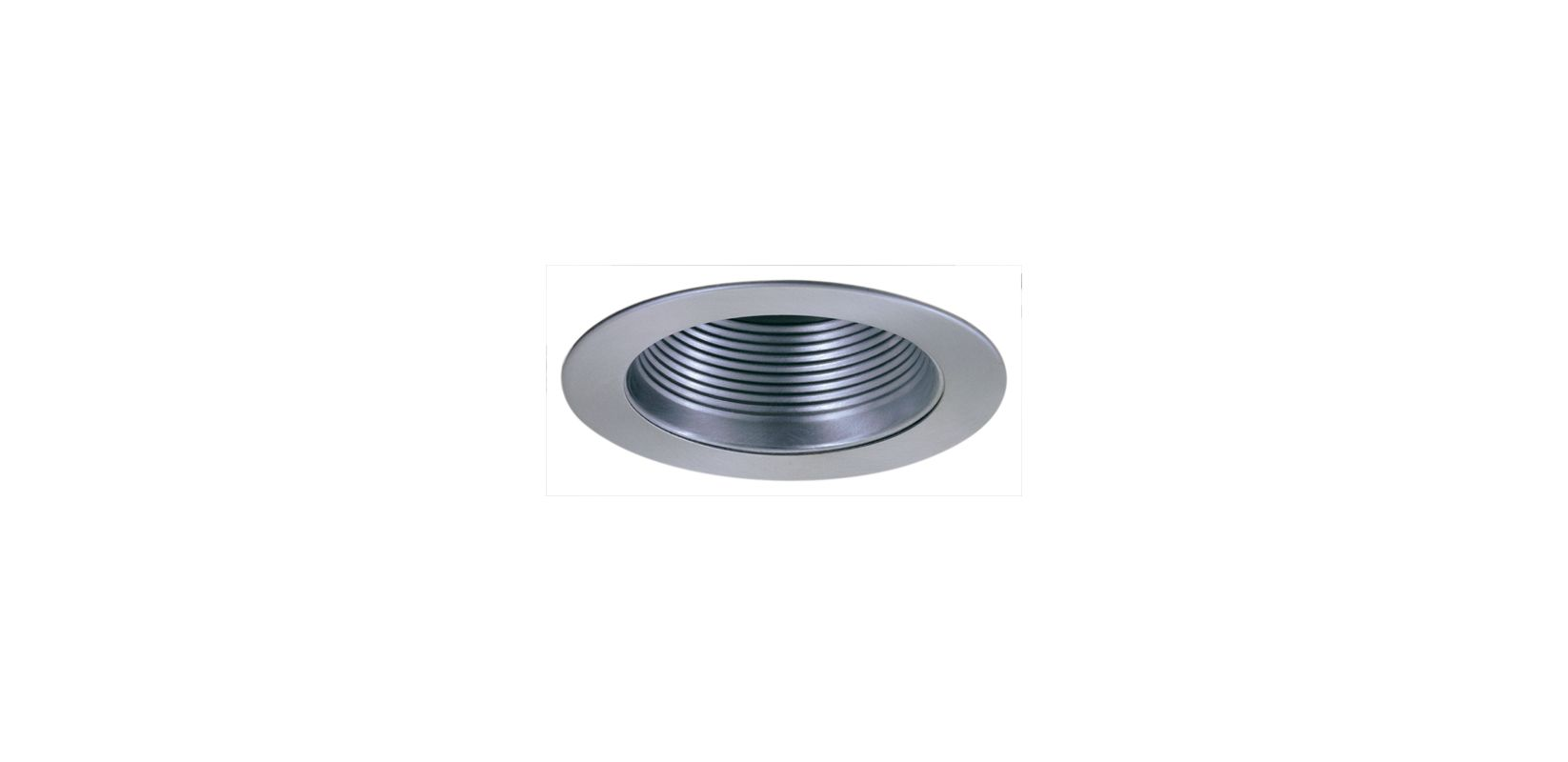 "Elco EL993K 4"" Phenolic Baffle with Metal Ring and Socket Holder"