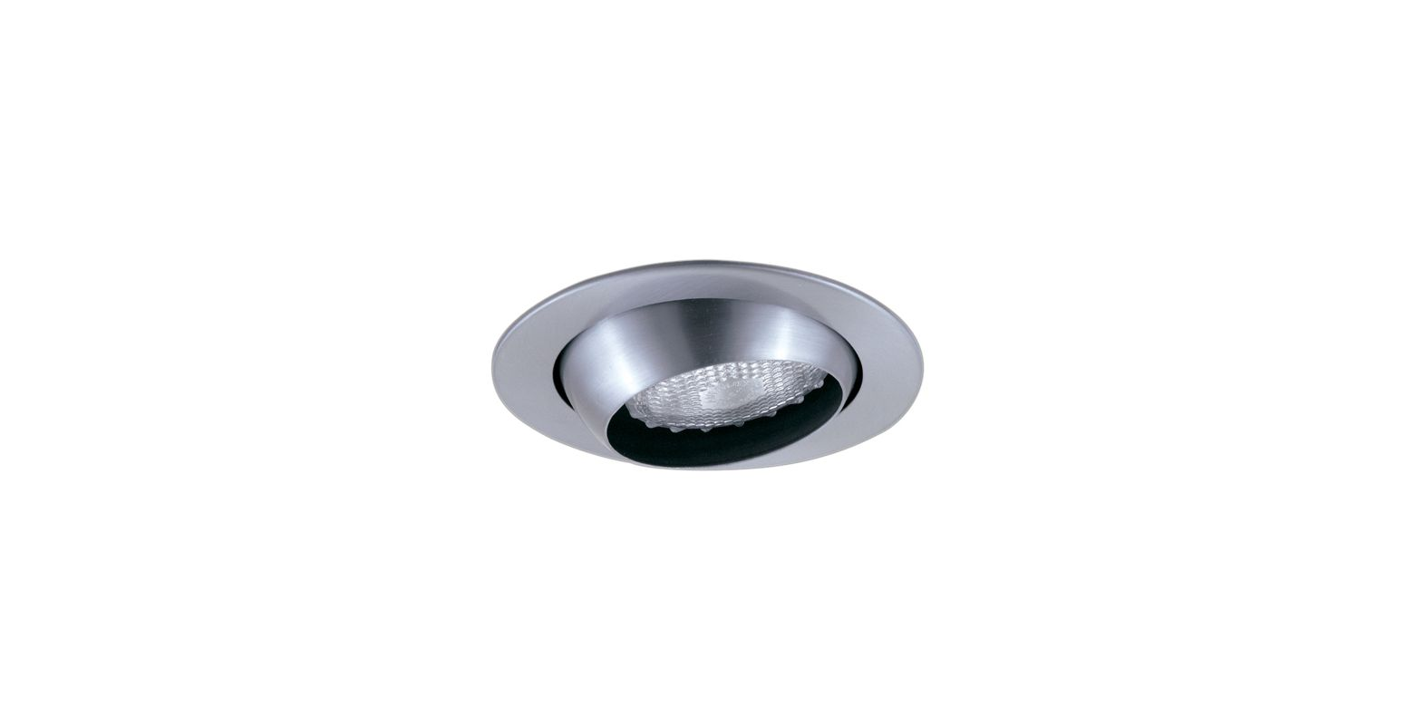 "Elco EL998 4"" Eyeball Trim Nickel Recessed Lights Adjustable Trims"